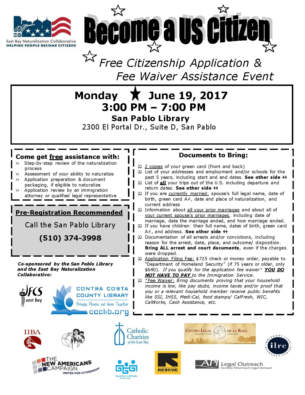 Citizenship Archives East Bay Naturalization Collaborative